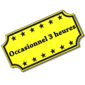 Occasionnel 3 heures