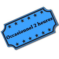 Occasionnel 2 heures