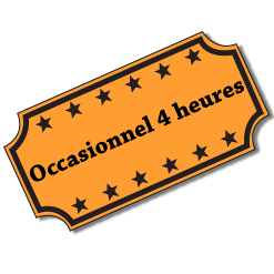 Occasionnel 4 heures